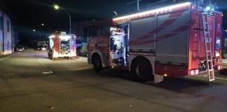 Vigili del fuoco - incendio