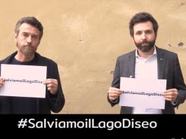 #SalviamoilLagoDiseo, la campagna social di Alessio Boni e Devis Dori