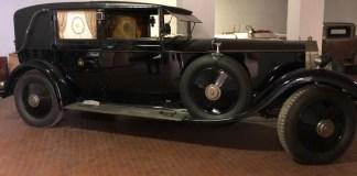 Rolls Royce della famiglia Churchill - foto da Istituto commissionario R&M servizi giudiziari