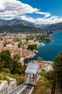 L'ascensore di Riva del Garda 1 - foto da pagina Facebook Garda Trentino