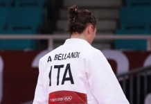 Alice Bellandi - foto da Facebook -Federazione Italiana Judo Lotta Karate Arti Marziali
