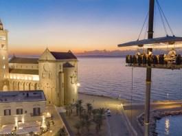 Cena sospesi a 50 metri d'altezza - foto dinner in the sky