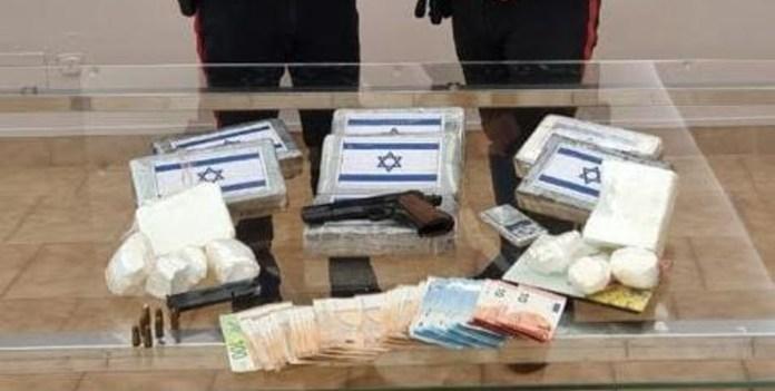 sequestro di cocaina, armi e contanti - foto carabinieri