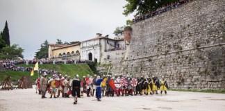 Assedio al Castello di Brescia - ph credit ufficio stampa www.bsnews.it