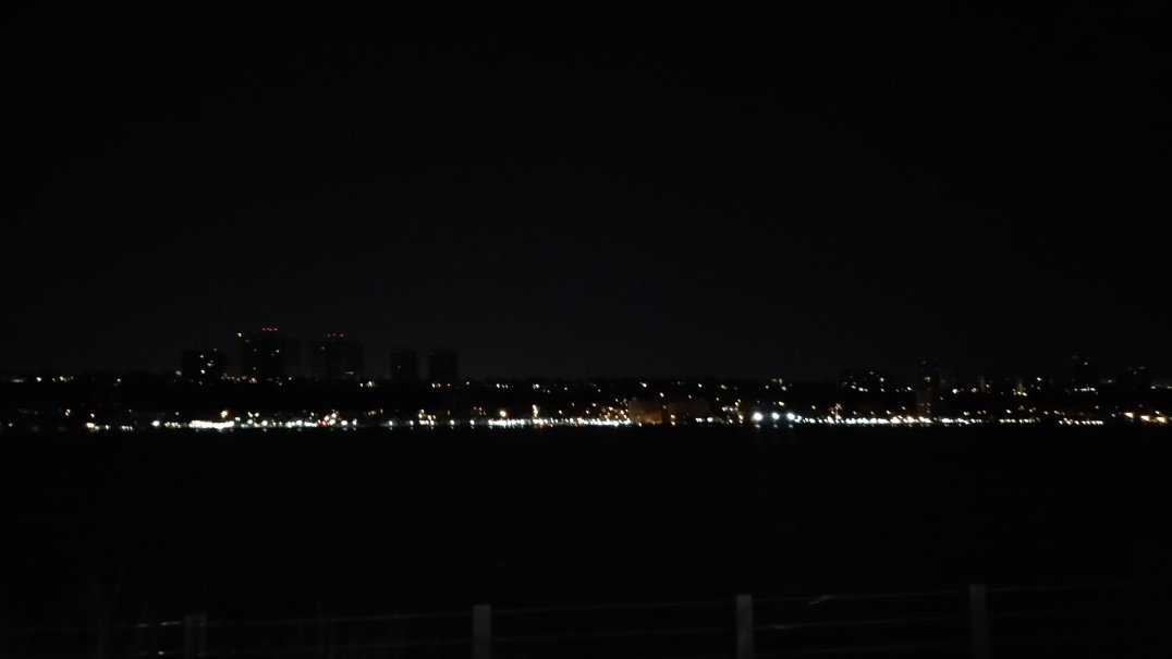 Looking at the New Jersey skyline (sorry for the terrible picture)