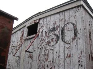 B&SR Boxcar #50, @ MNGRR, Portland, ME, November 2014