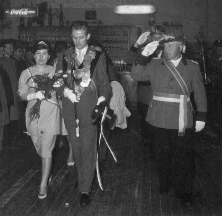 1961: Klaus Beenen und Magdalene Willich