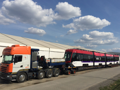 Fertig für den Transport ab Siedlce, Polen