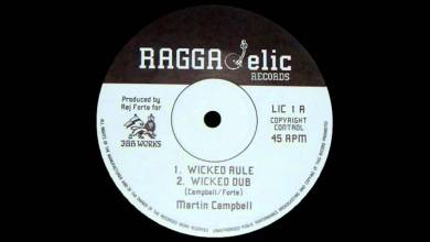 "Photo of 12"" Martin Campbell – Wicked Rule (& dub)"