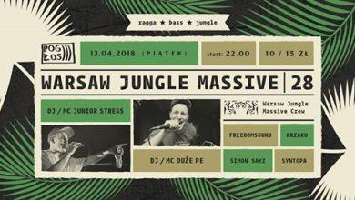 Photo of Warsaw Jungle Massive #28 feat. Junior Stress & Duże Pe