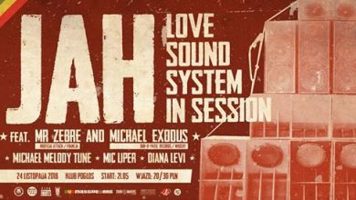 Photo of Jah Love Soundsystem in session feat. Mr Zebre & Michael Exodus