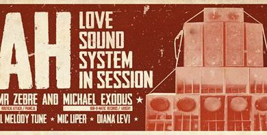 Photo of Jah Love Soundsystem in session! feat. …