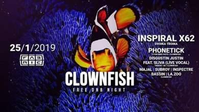 Photo of Clownfish Free DnB Night @Fabric 25-1-2019