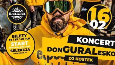 Photo of Donguralesko & DJ. Kostek – Koncert