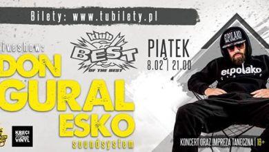 Photo of 08/02 – Donguralesko / live show / koncert / impreza / 16+
