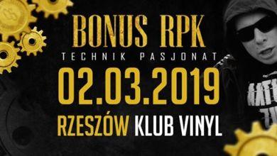 Photo of Bonus RPK – Technik Pasjonat – Rzeszów / Klub Vinyl