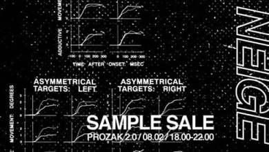 Photo of Neige AW18 Sample Sale x Prozak 2.0