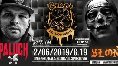 Photo of Gniezno Hip-Hop Night 02.06.2019: Paluch • Słoń