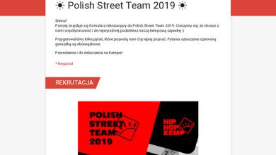 Photo of ☀ Polish Street Team 2019 ☀