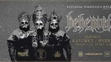 """Photo of Behemoth """"Ecclesia Diabolica Baltica"""" / 28 IX / Katowice"""