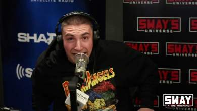 Photo of Token Raps on Sway in the Morning over 50 Cent Beats