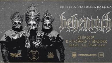 "Photo of Behemoth ""Ecclesia Diabolica Baltica"" / 28 IX / Katowice"