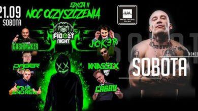 Photo of 21.09 Koncert Sobota / Noc Oczyszczenia Edycja II -Fidget Night