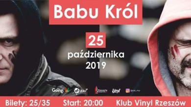 Photo of Babu Król • Klub Vinyl • Rzeszów