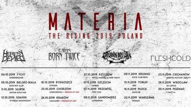 Photo of Materia – The Rising Tour 2019 – Warszawa Pogłos