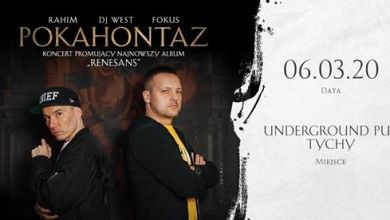 Photo of Pokahontaz / Rahim x Fokus x Dj West / Tychy/ Underground Pub