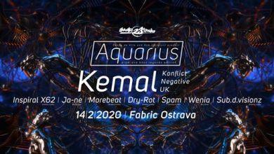 Photo of Aquarius DNB w/ Kemal @Fabric 14-2-2020