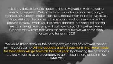 Photo of Important announcement: Catch the Flava …