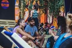 Photo of Deep talks @ CTF chill zone #catchthefla…