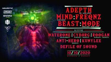 Photo of Neurotic Vol. 6 w/ Adepth, Mind:freqnz, Beast:Mode