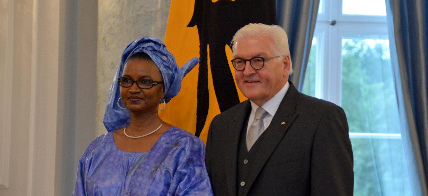 Botschafter akkreditiert Mali Oumou Sall-Seck