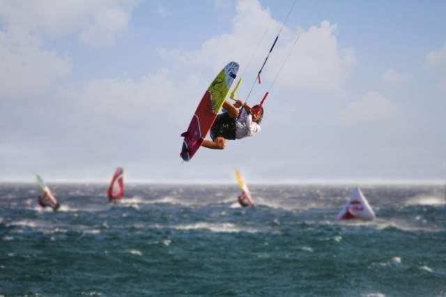 Kyte-Surfer hebt ab