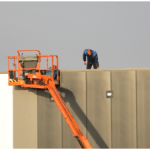 Veilig werken op hoogte en entree dak??? hoogte is ~10mtr.