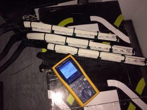 Fluke DTX1800 Ethernet cable tester