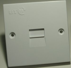 BT Master Sockets installed