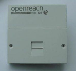We fit genuine BT master socket NTE5a