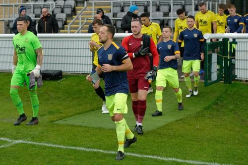 Melksham Away Match Photos FA Trophy