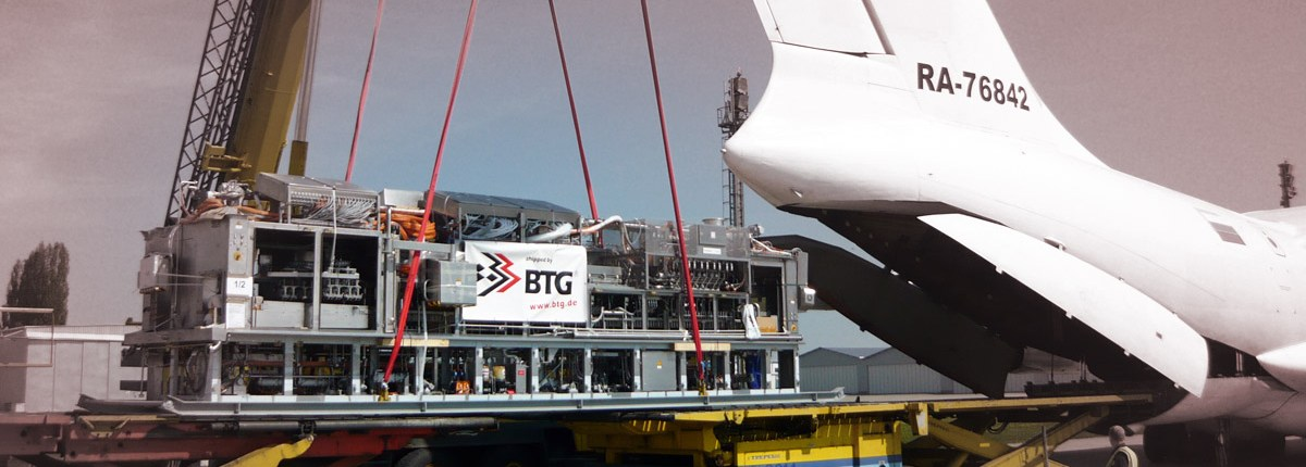BTG Exhibition Logistics worldwide - Airfreight