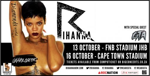 Rihanna in Cape Town - Concert Review
