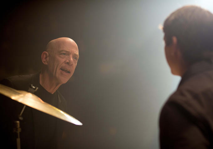J.K Simmons bagged some Gold for his formidable role in Whiplash.