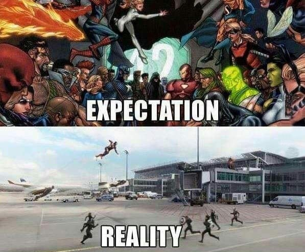 Civil War Expectation Reality