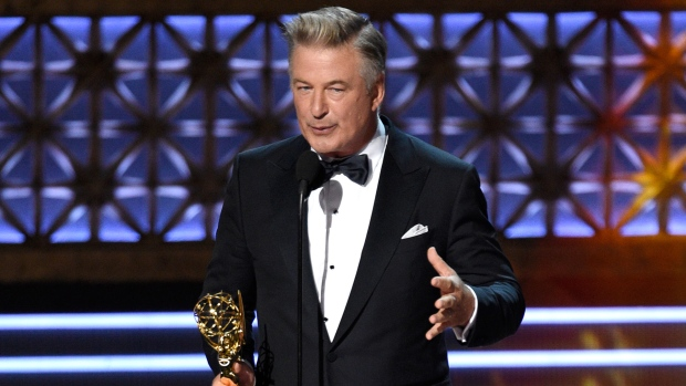 Alec Baldwin, Saturday Night Live - EMmys 2017