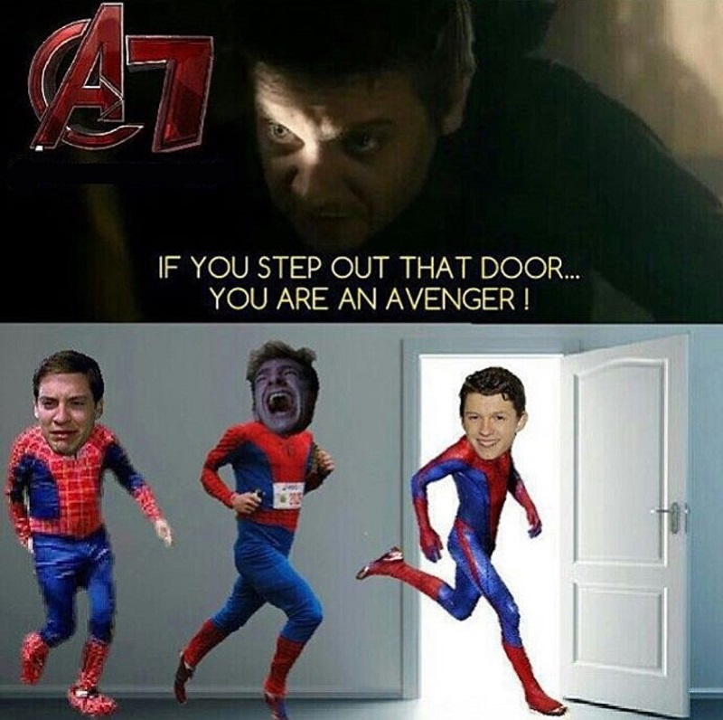 Step out Avenger- Spiderman