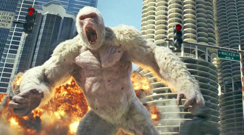 Rampage Movie Trailer - The Rock - BTG Lifestyle