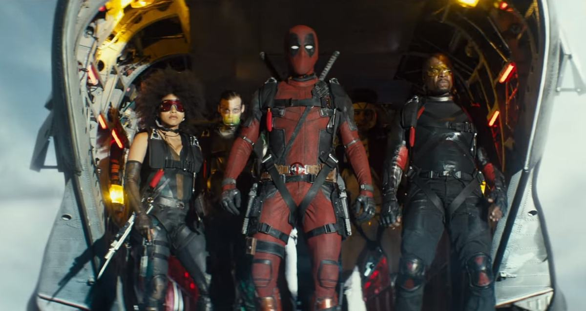 Deadpool 2 Trailer is off the chain!
