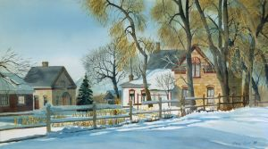 """Craig's House"""" 18x30 W color Sold, Provo High"""